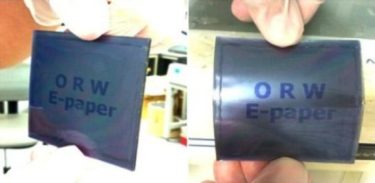 A paperlike LCD thin flexible tough and cheap
