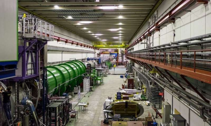 CERN experiment sees hints of a rare kaon decay