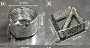 Modified 3D printable alloy shows promise for flexible electronics soft robots