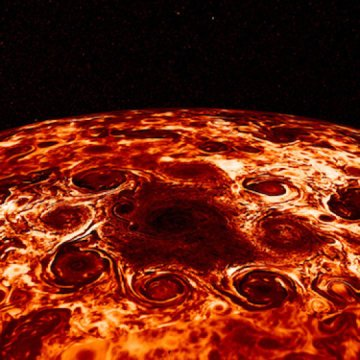 NASA Juno finds Jupiters jet streams are unearthly