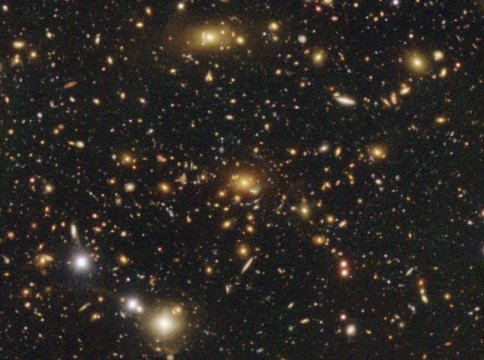 Unprecedentedly wide and sharp dark matter map