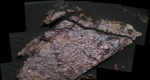 Clear as mud Desiccation cracks help reveal the shape of water on Mars