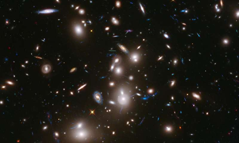 Galaxies grow bigger and puffier as they age study