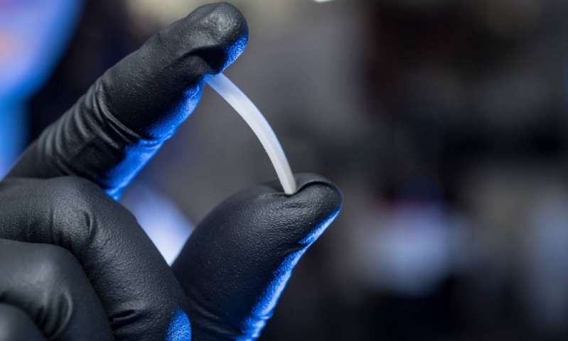 Infinitely recyclable polymer shows practical properties of plastics