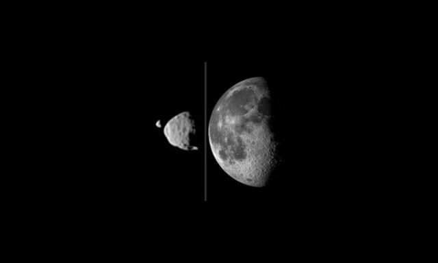 Martian moons model indicates formation following large impact