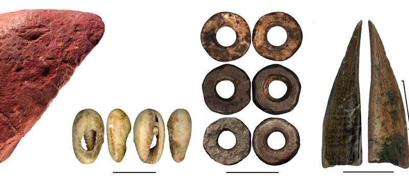 78000 year cave record from East Africa shows early cultural innovations