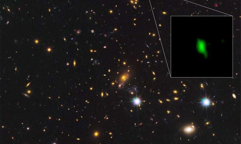 Astronomers find evidence for stars forming just 250 million years after Big Bang