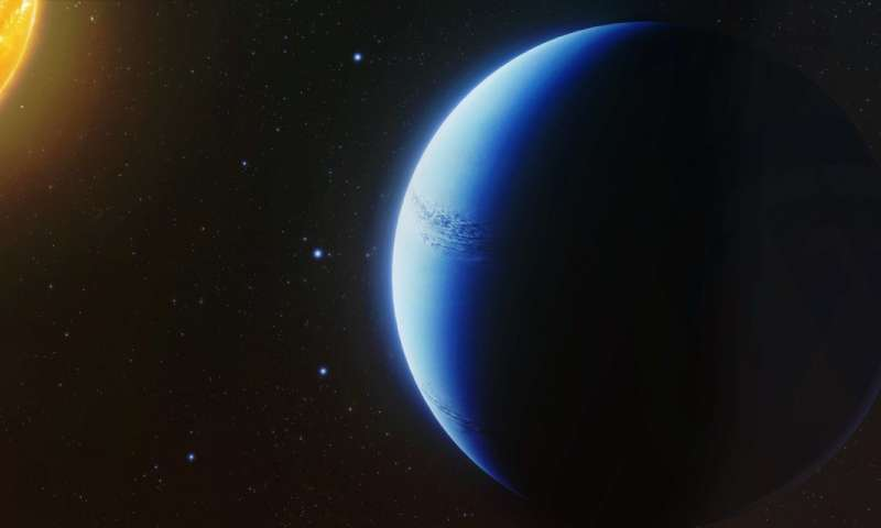 Astronomers find exoplanet atmosphere free of clouds