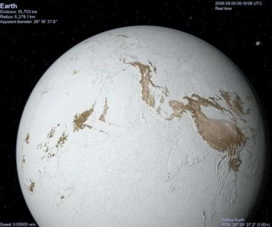 Geoscientists suggest snowball Earth resulted from plate tectonics