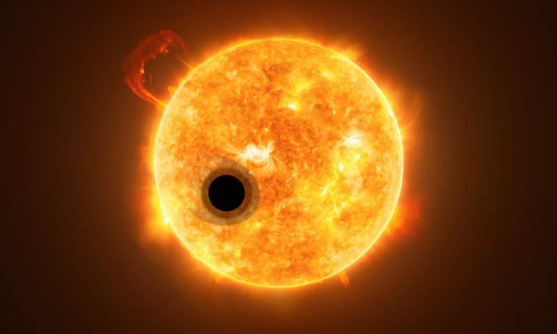 Helium detected in exoplanet atmosphere for the first time