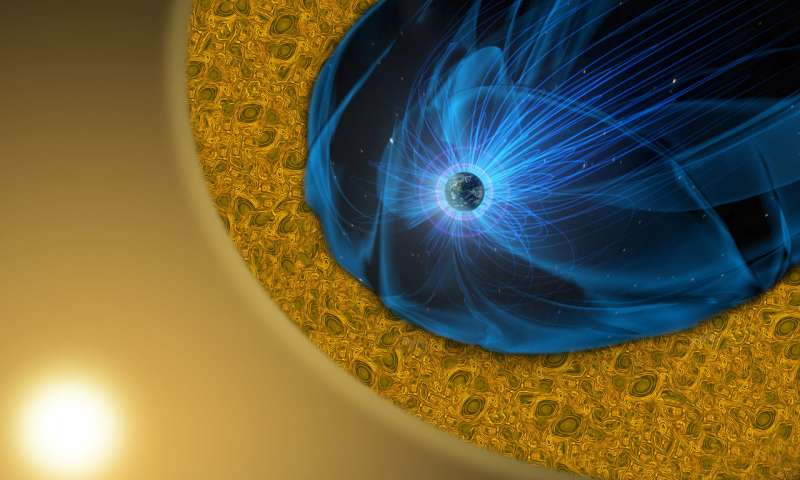 Reconnection tames the turbulent magnetic fields around Earth