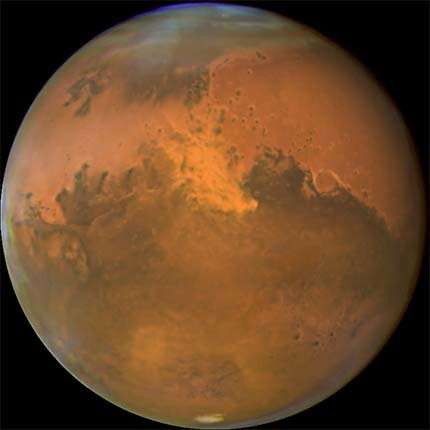 Study explains why Mars growth stunted
