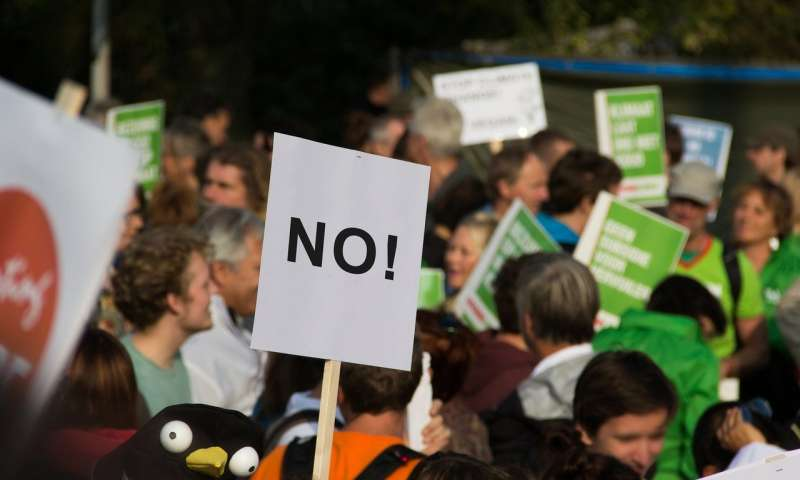 Research finds tipping point for large scale social change