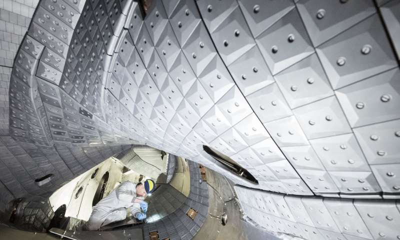Wendelstein 7 X achieves world record for fusion product
