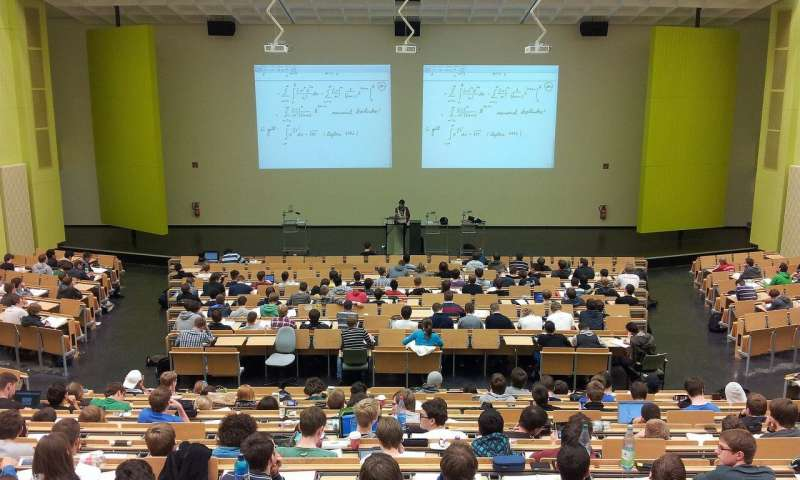 Checking phones in lectures can cost students half a grade in exams