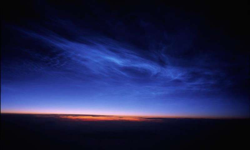 Climate change is making night shining clouds more visible