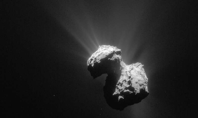 Molecular oxygen in comets atmosphere not created on its surface