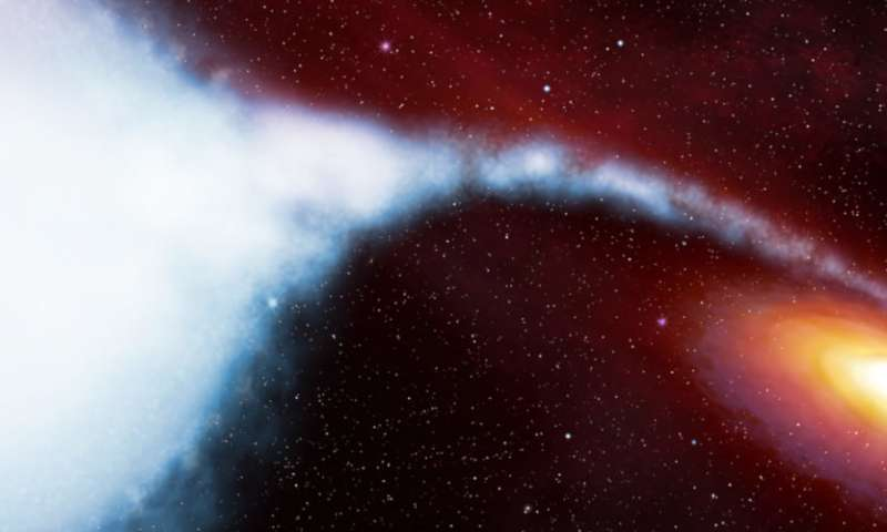 X ray technology reveals never before seen matter around black hole