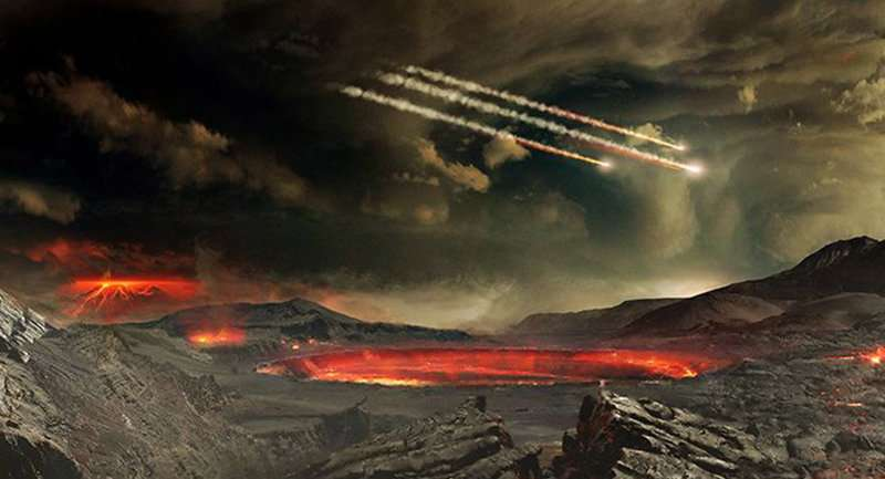 Chemical footprint in present day atmosphere mimics that observed in ancient rock