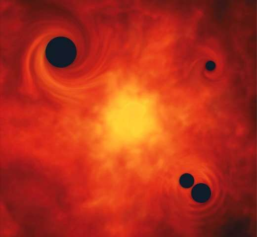 Cosmologists propose new way to form primordial black holes