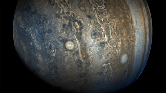 Jupiter had growth disorders