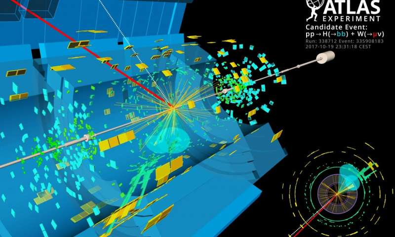Long sought decay of Higgs boson observed