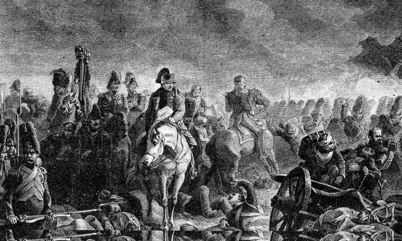 Napoleons defeat at Waterloo caused in part by Indonesian volcanic eruption