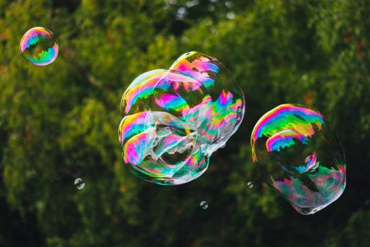 The science behind blowing bubbles