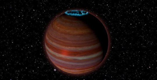 VLA detects possible extrasolar planetary mass magnetic powerhouse