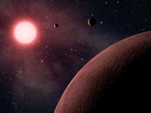 Water worlds could support life Analysis challenges idea that life requires Earth clone