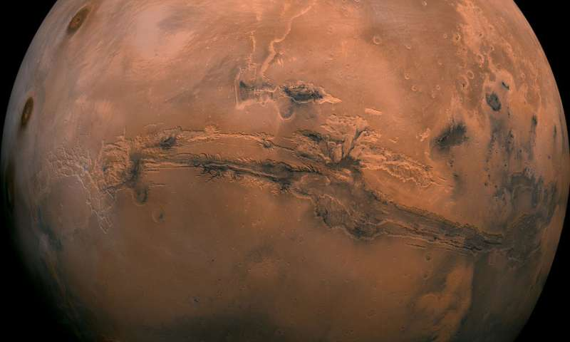Ancient Mars had right conditions for underground life new research suggests