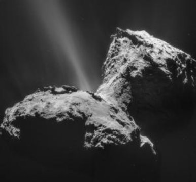 Did key building blocks for life come from deep space