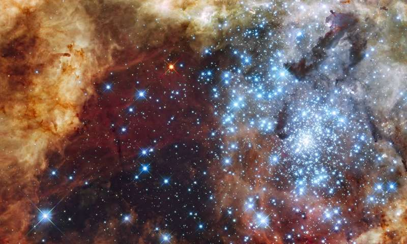 Magnetic waves create chaos in star forming clouds