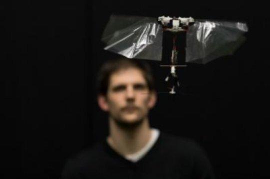 Novel flying robot mimics rapid insect flight