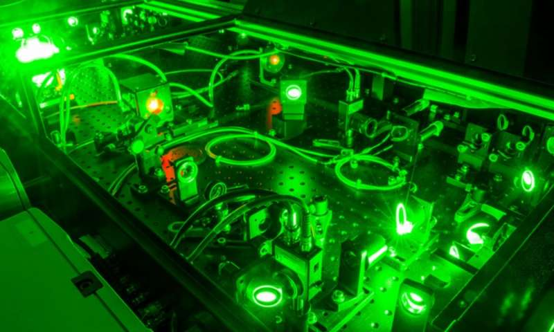 Optical rocket created with intense laser light