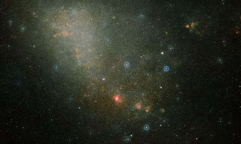Astronomers confirm collision between two Milky Way satellite galaxies