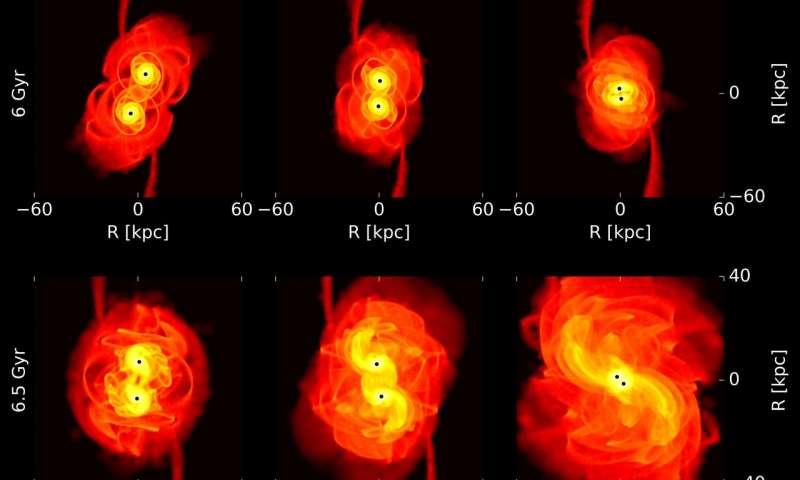 Gravitational waves could shed light on dark matter