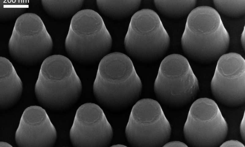 Nanoscale pillars as a building block for future information technology