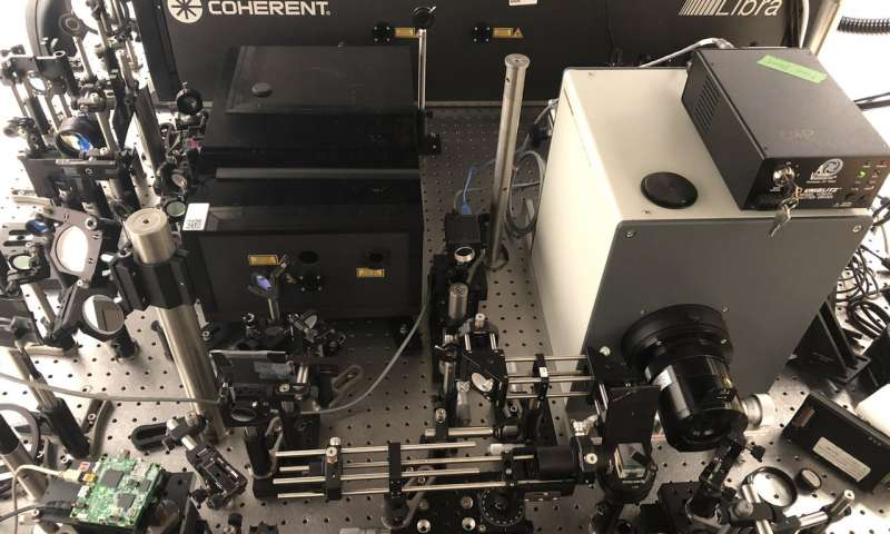 Worlds fastest camera freezes time at 10 trillion frames per second