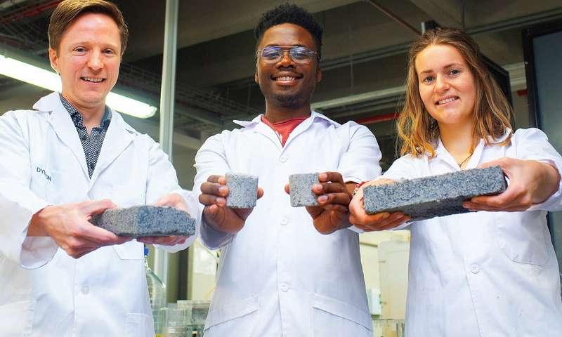 Worlds first biobricks grown from human urine