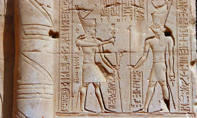 Ancient Egyptians discovered Algols variability 3000 years before western astronomers