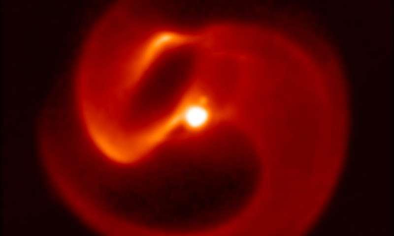 Doomed star in Milky Way threatens rare gamma ray burst