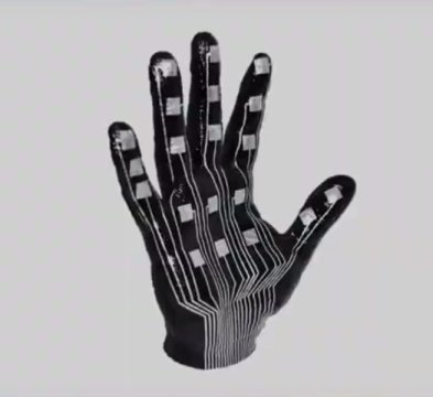 Flexible electronic skin aids human machine interactions