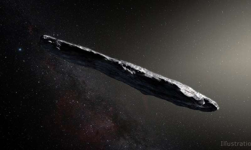 NASA Learns More About Interstellar Visitor Oumuamua