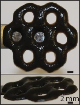 New smart material with potential biomedical environmental uses