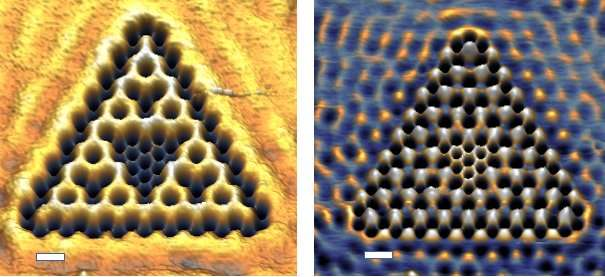 Physicists build fractal shape out of electrons