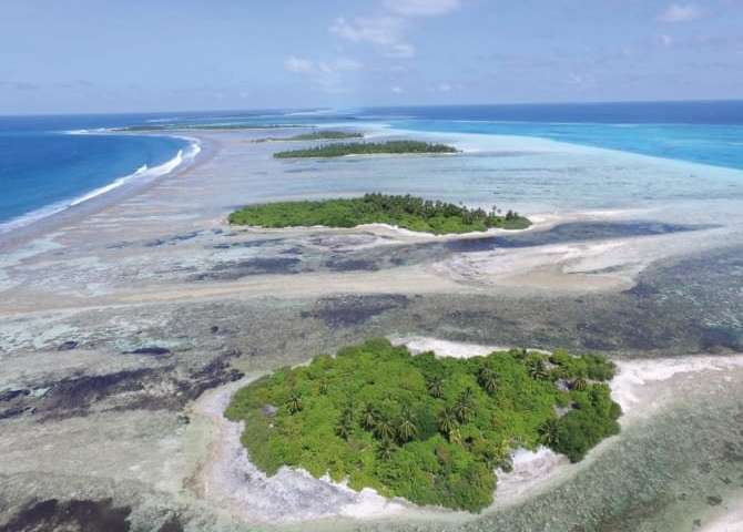 Rising sea levels may build rather than destroy coral reef islands