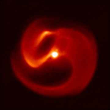 Scientists discover new pinwheel star system