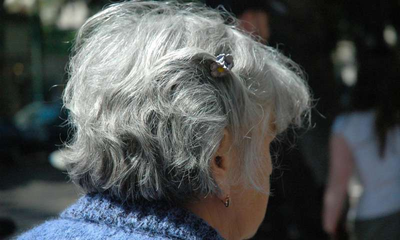Study reveals why older women are less healthy than older men