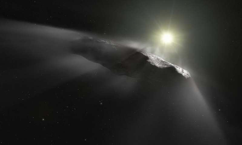 A radio search for artificial emissions from Oumuamua